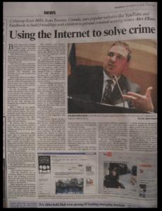 Johannesburg Star News Article November 2008 Scott Mills