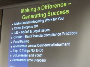 IMG 0938 300x225 Crime Stoppers Social Media Making A Difference ~ Generating Success & Safety #ThinkGlobal #ActLocal @CSIWorld