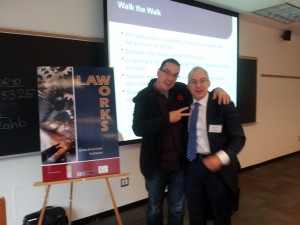 Eric Roher Scott Mills 300x225 LAWWORKS 2012 Lawyer & Cop Talk Social Media For Success & Safety For Schools