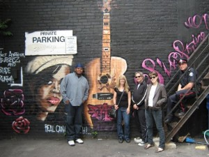 Six String Nation Guitar Mural Rear of Lee's Palace Toronto