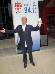 Constable Tony Vella @OfficerVella at @CBCHereAndNow Radio Show