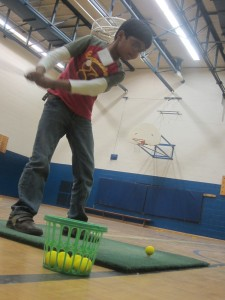 Golf Swings Improve With Mentoring Program Sponsored by The Longest Yard And ProAction Cops &