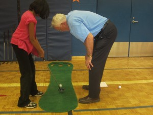 Islington Golf Club Members Give Back To Community Teaching Golf To Youngsters