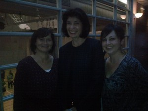 Left to Right: Street Nurse Anne Marie Batten, Dean Social Work University of Toronto Faye Mishna and workshop delegate