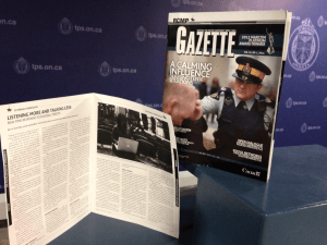 """Listening More, Talking Less"" Read what Real Time Crisis Intervention is in April/2014 RCMP Gazette. Special thank you to RCMP Ontario Social Media Specialist Jean Turner for making this article happen"