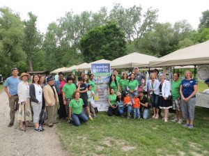Canada Rivers Day was part of 1st Annual Gathering of the Four Directions event honouring ancestry and building strong  community bonds between kids, community and cops for the future June 8, 2014 at Etienne Brule Park. Great to see David Miller  representing World Wildlife Foundation at the event among several community partners