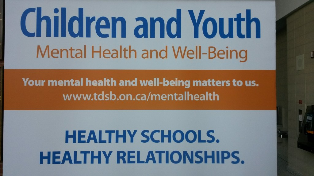 1st Annual Mental Health And Well Being Parent Symposium hosted by the Toronto District School Board included 2 workshops led by Constable Scott Mills on topic of  Social Media For Success And Safety and Saving & Improving Lives Using Social Media Tools Saturday May 9, 2015