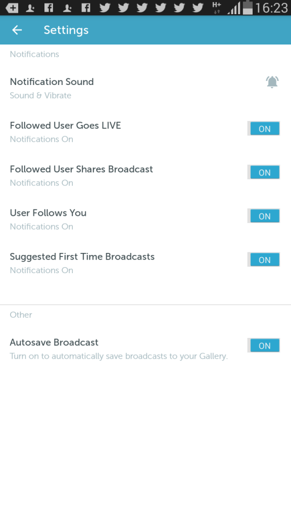 There is a setting that is 'off' on Periscope that allows you to archive a copy of the video you are taking on your device. Recommended to have this 'on' in the event there is an Internet connectivity or other technical glitch