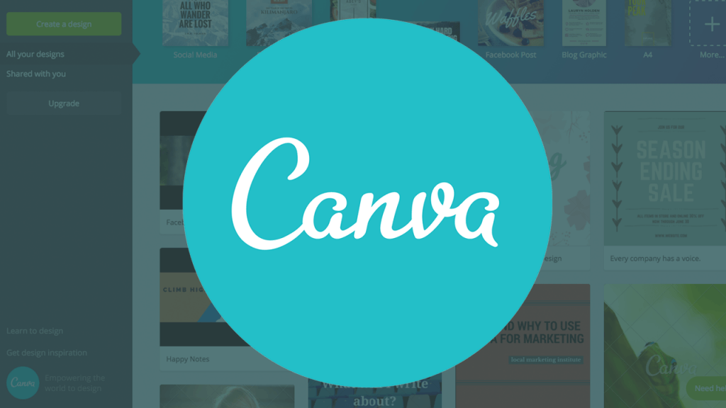 Canva is a great free tool to make eye catching graphics for social media in proper sizes for all platforms. Also great for sizing for profile pictures and banner pictures!